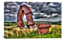 The Twisted Chimney, Canvas Print