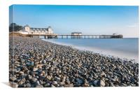 Penarth Pier Long Exposure 2, Canvas Print