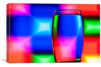 Refracted Patterns 39, Canvas Print