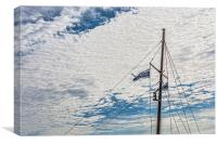 Fore Mast, Canvas Print