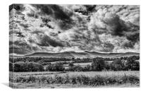 Penyfan View Monochrome, Canvas Print