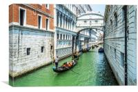Under The Bridge Of Sighs, Canvas Print