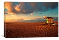 Ainsdales Baywatch, Canvas Print