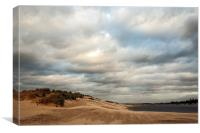Wells Beach, Canvas Print