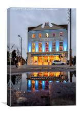 London the Old Vic, Canvas Print