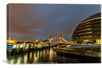 City Hall London, Canvas Print