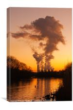 Attenborough Nature Reserve, Canvas Print