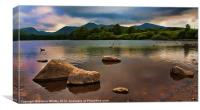 Derwent Waters, Canvas Print
