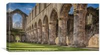 Fountain Abbey, Canvas Print