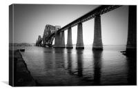 The Pillars of the Firth, Canvas Print