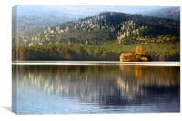 Highland Reflections, Canvas Print