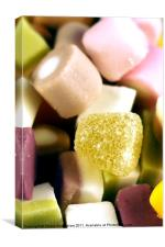 dolly mixtures, Canvas Print
