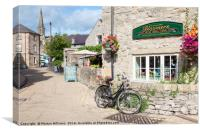 Bakewell, Derbyshire, Canvas Print