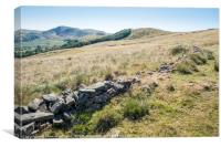 The Great Ridge, Derbyshire, Canvas Print