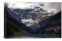 An Afternoon at Lake Louise, Canvas Print