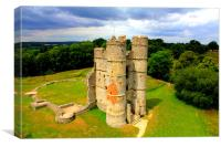 Donnington Castle (Magazine proof), Canvas Print