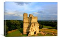 Donnington Castle (sunset), Canvas Print