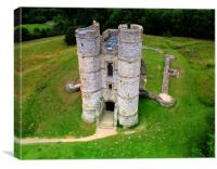 Donnington Castle, Canvas Print