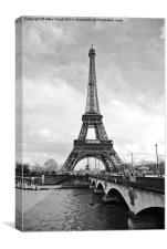 Eiffel Tower, Paris, Canvas Print