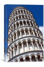 Leaning Tower of Pisa, Canvas Print