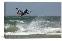 Kite Surfer 2, Canvas Print