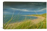Budle Bay, Canvas Print