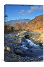 Ashness Bridge, Canvas Print