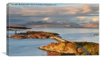 Skye Bridge, Canvas Print