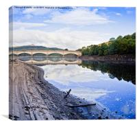Early morning at Ladybower, Canvas Print