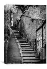 Steps in Pickering, Canvas Print