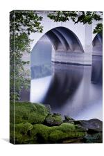 Ashopton Viaduct, Ladybower Reservoir, Canvas Print