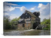 Houghton Water Mill, Canvas Print