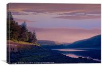 Howden Clough Sunrise, Canvas Print