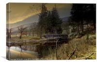 Howden Lake, Canvas Print