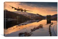 Lancaster Sunrise, Canvas Print