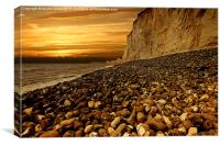 Birling Gap, Canvas Print