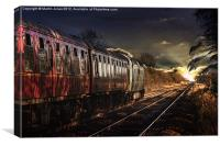 Deltic Sunset, Canvas Print
