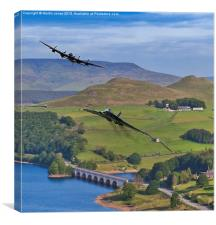 Avro Thunder, Canvas Print