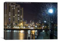Salford Quays, Canvas Print