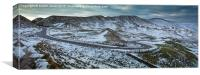 Rushup Edge and Edale from Mam Tor, Canvas Print