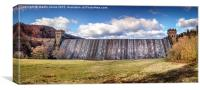 Mighty Wall Across the Upper Derwent Valley, Canvas Print