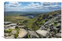 Kinder Downfall, Canvas Print