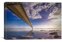 Masterpiece Of Engineering - The Humber Bridge, Canvas Print