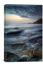 Old Hartley Rocks, Canvas Print