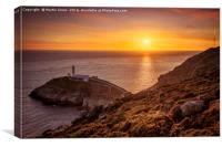 Ynys Lawd - South Stack, Anglesey, Canvas Print
