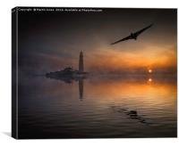 Vulcan to the North East, Canvas Print