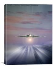 Vulcan at Dawn, Canvas Print