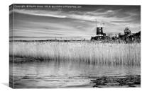 Cley Windmill, Norfolk., Canvas Print