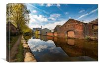 The Sheffield & South Yorkshire Navigation , Canvas Print