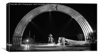 The Peoples' Freindship Arch, Kiev , Canvas Print